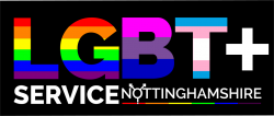 LGBT+ Service Nottinghamshire BLACK