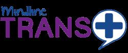 Trans Plus Logo 2017 Coloured, White Speech Bubble
